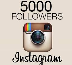 Buy 5000 Instagram followers cheap